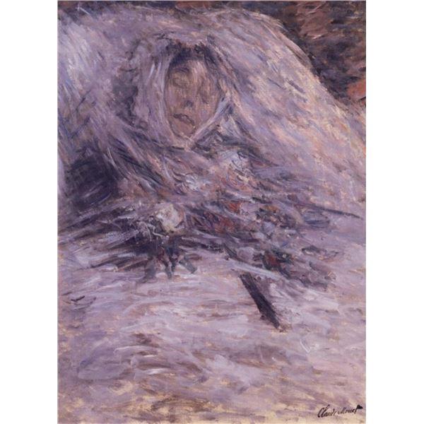 Claude Monet - Camille Monet sur Son Lit de Mort