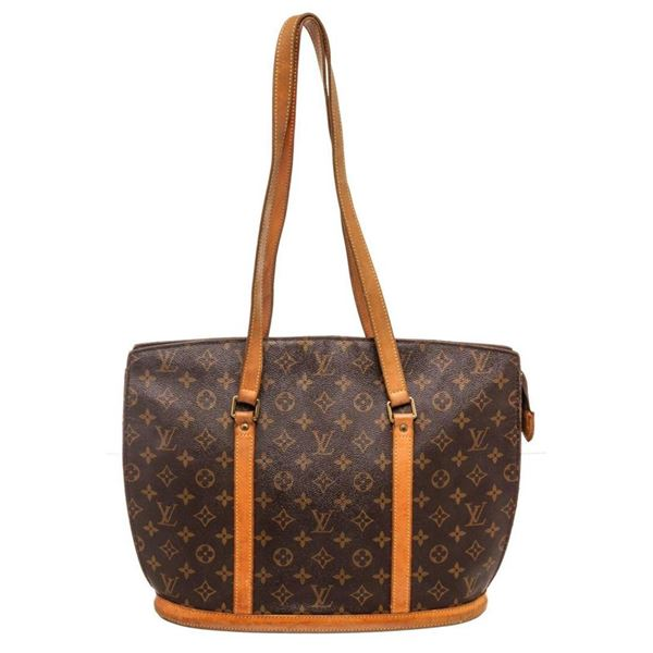 Louis Vuitton Brown Babylone Totes