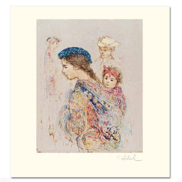 Guatemalan Mother and Baby by Hibel (1917-2014)
