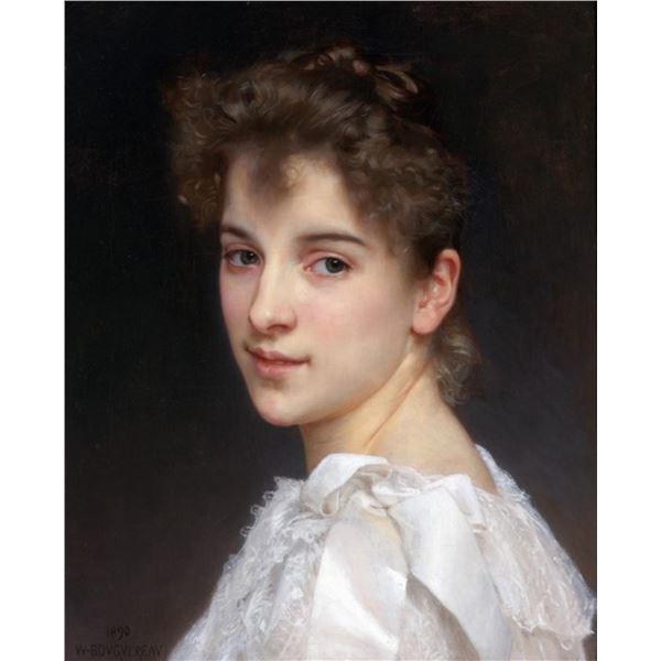 William Bouguereau  - Portrait of Gabrielle Cot