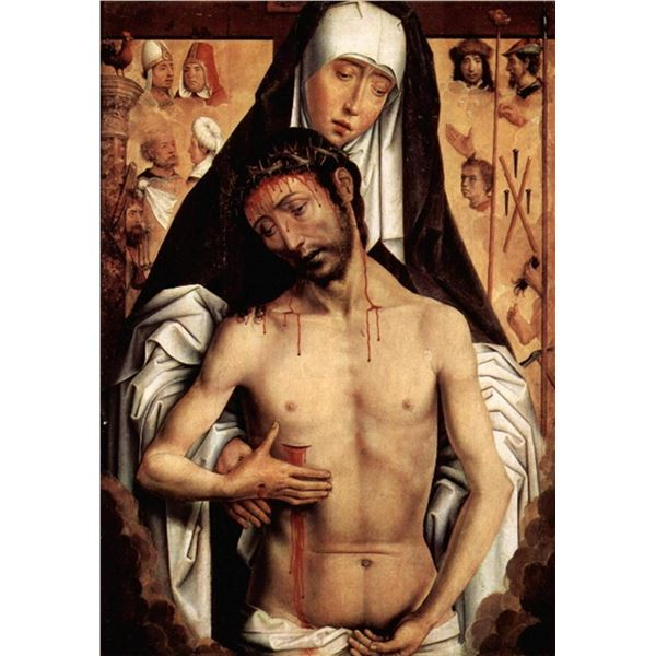 Hans Memling - Maria with Dying Christ