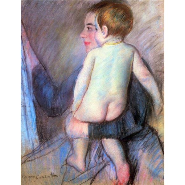 Mary Cassatt - At The Window  Mary