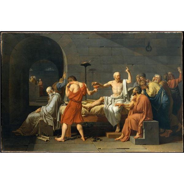Jacques-Louis David - The Death of Socrates