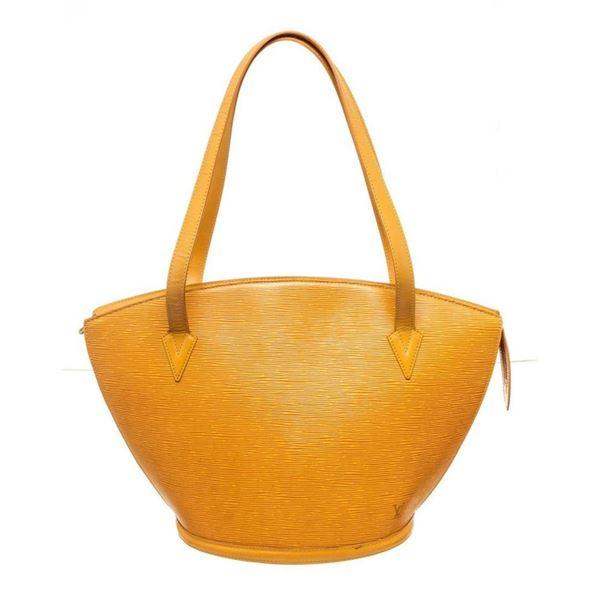 Louis Vuitton Yellow St. Jacques GM Tote Bag