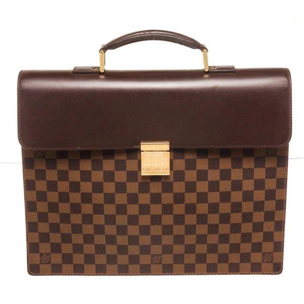 Louis Vuitton Brown Damier Ebene Altona PM Briefcases