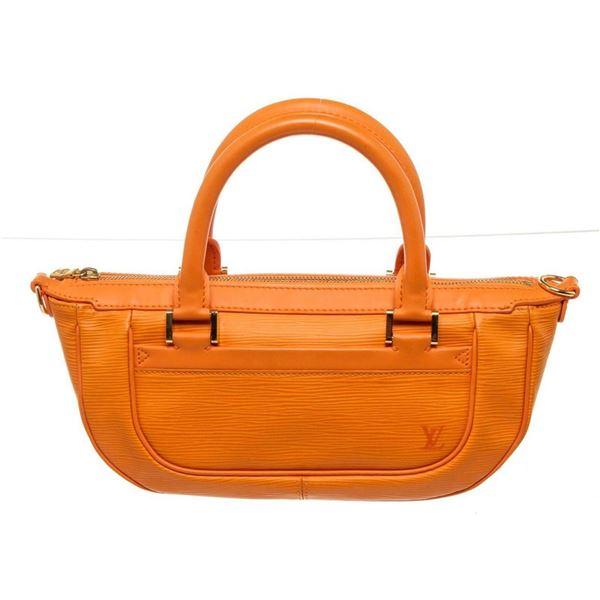 Louis Vuitton Orange Epi Leather Danura PM Handbag