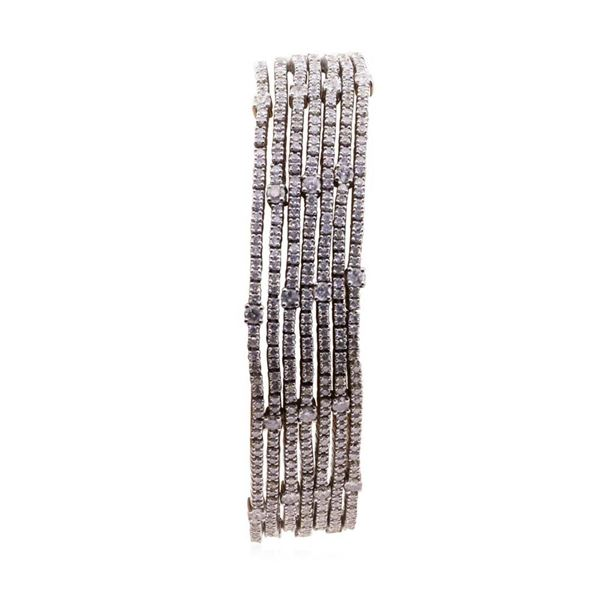10.17 ctw Diamond Bracelet - 14KT White Gold