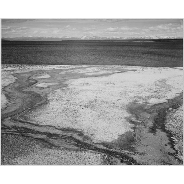 Adams - Yellowstone Lake - Hot Springs Overflow