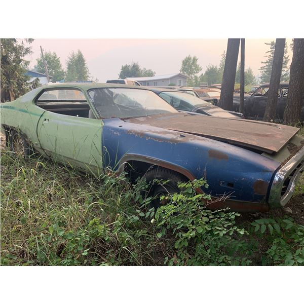 1972 Plymouth Road Runner - shell, no VIN, parts