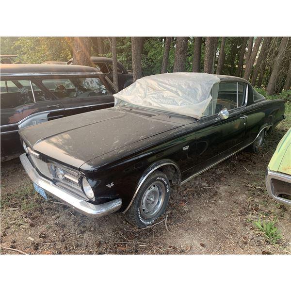 1965 Plymouth Barracuda - 273 V8, runs and drives