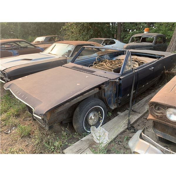 1968 Dodge Dart GT Convertible - Shell, new fenders, 8 3/4 posi, disc brakes on parts car (#56)
