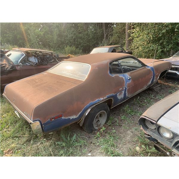 1971 Plymouth Satellite Sebring - has rust on front frame rail, fairly solid