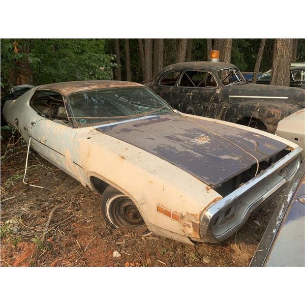 1971 Plymouth Satellite - good parts or project