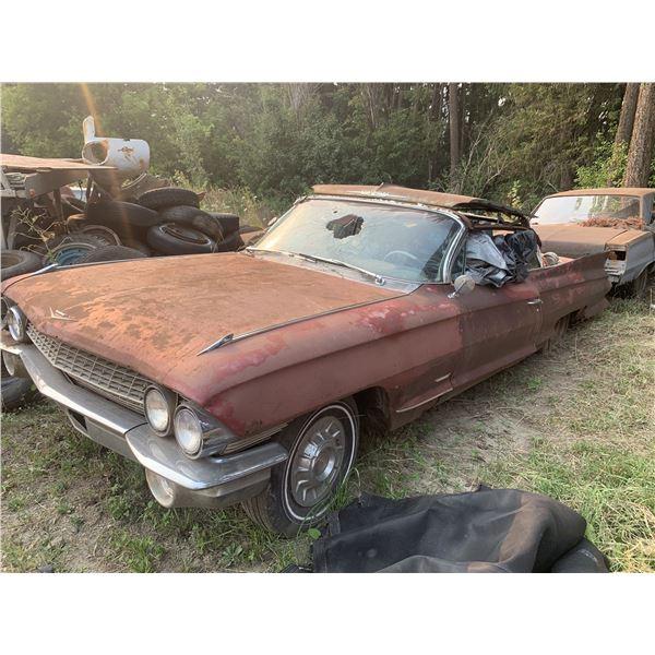 1962 Cadillac Convertible - shell, parts or restore