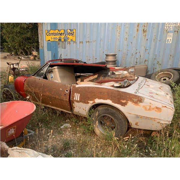 1967 Pontiac Firebird convertible - new quarters, minor floor rust, solid project, have original OHC