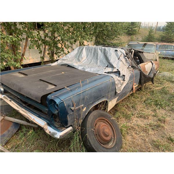 1966 Mercury Cyclone GT Convertible - ultra rare, was original 289 car, good body, almost complete