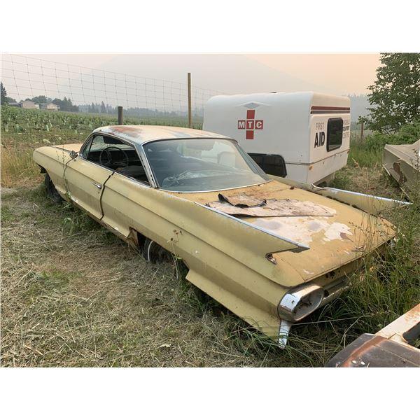 1962 Cadillac bubbletop - 2 Dr HT, good body