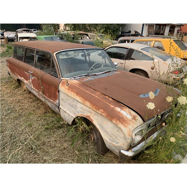 1962 Ford Falcon Wagon - 2 dr, rough but rare