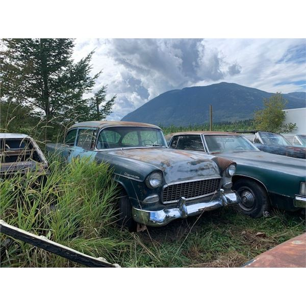 1955 Chevy - 2dr post, exellent project, minimal rust