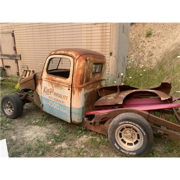1940 Ford Pickup - project, rack and pinion corvette rear