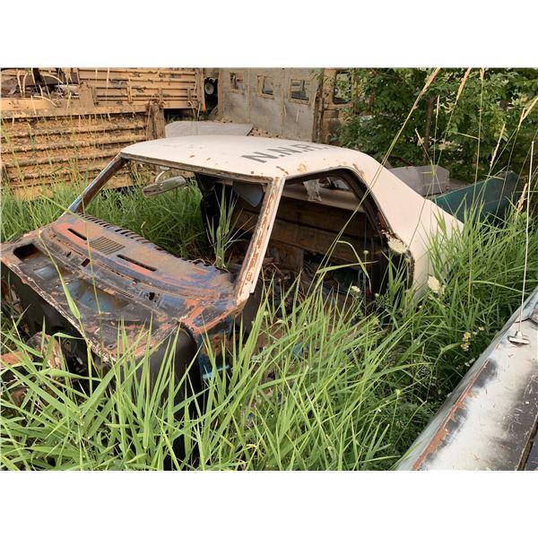 1969 Chevy El Camino - shell, has most body parts, disc brakes, was drag car