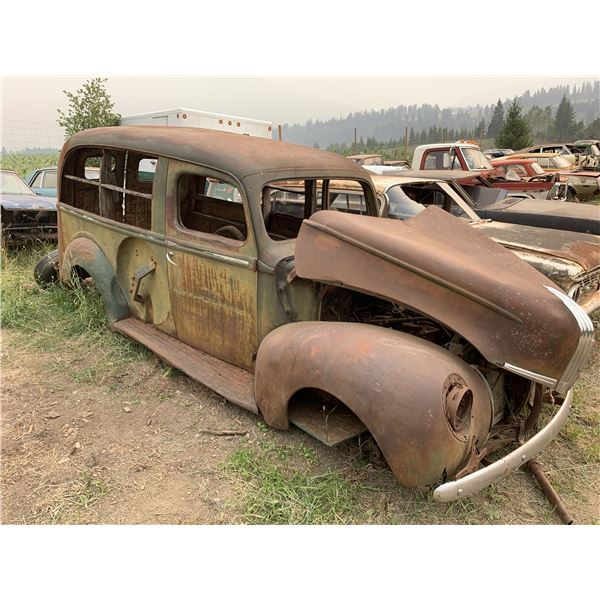 1939 Ford Panel -  needs love, very rare