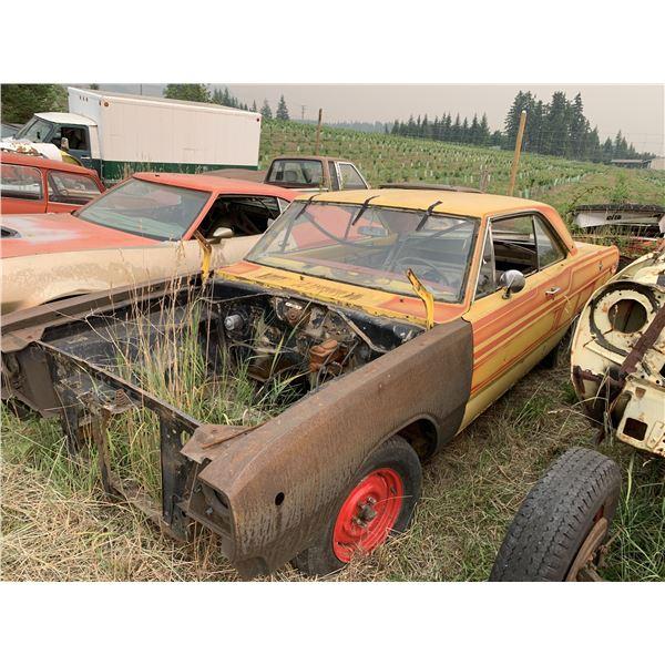 1968 Dodge Dart - parts car for 68 GT rag, disc brakes, 2 dr HT, Alberta reg, 8 3/4 posi