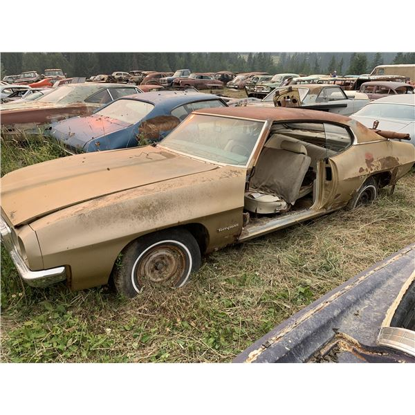 1970 Pontiac Tempest - shell only, parts only