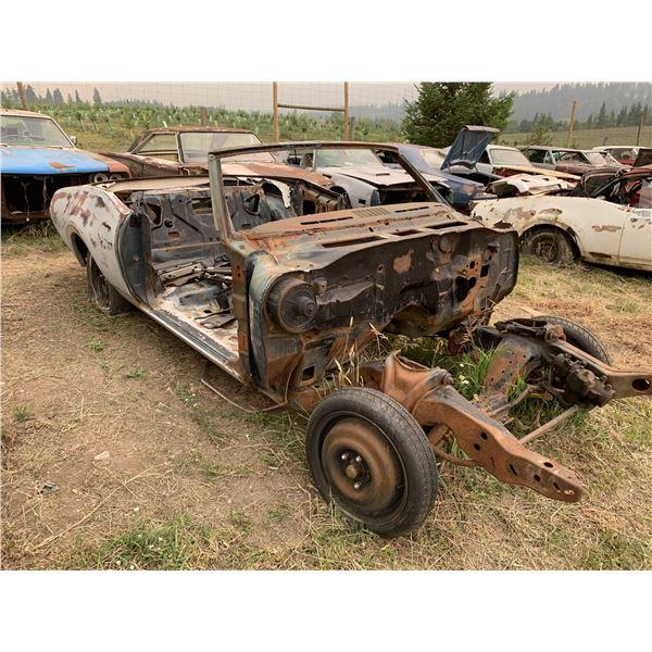 1968 Oldmobile Rag - shell, restorable, good frame, has VIN