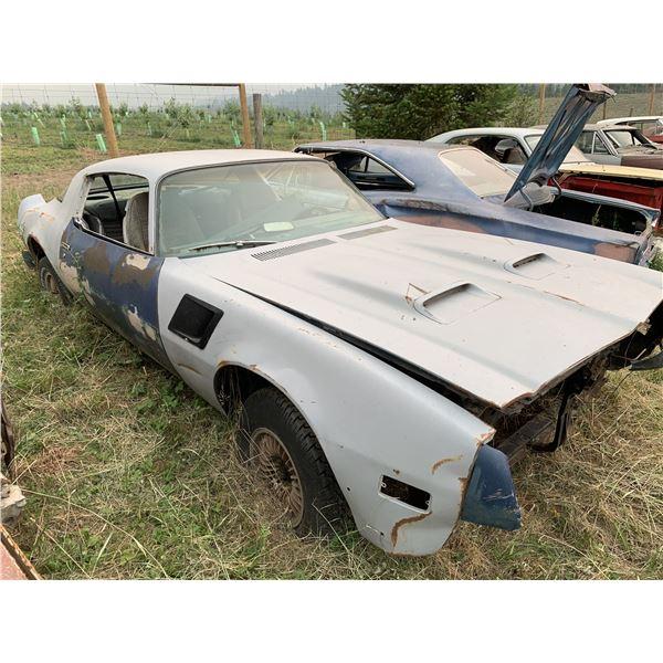 1976 Pontiac Formula - parts or restore, decent body, rolling shell