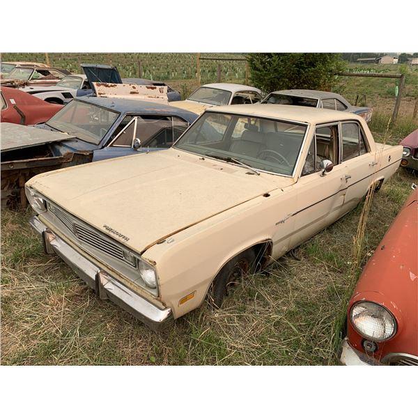 1969 Plymouth Valiant - 4 dr, 273 auto, good parts