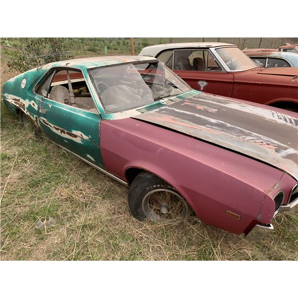 1968 AMC AMX - no driveline/running gear, excellent body