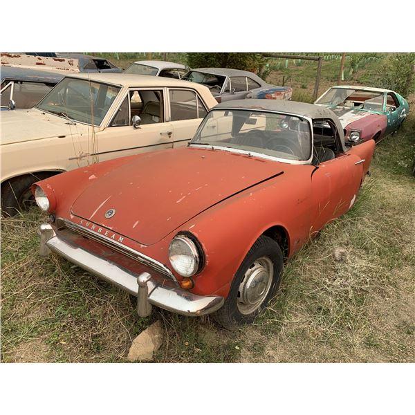 1961 Sunbeam Alpine - parts or restore, complete car