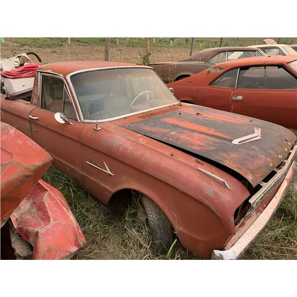 1962 Ford Ranchero Wagon conversion - may run, usual rust