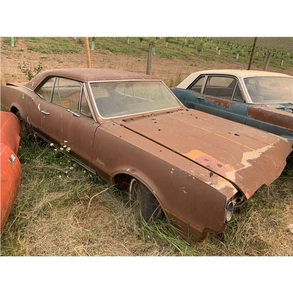 1967 Oldsmobile Cutlass - 2dr Hardtop, shell, parts or restore
