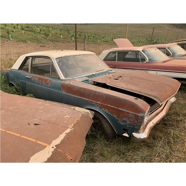 1969 Ford Falcon Sport Coupe - V8 Disc brakes, needs frame work, has spare hood, parts or restore