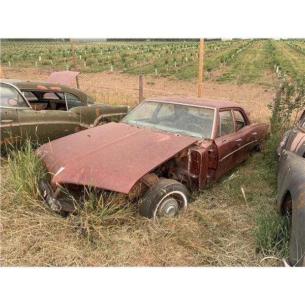 1966 Pontiac Parisienne - 4 dr shell, not much left, parts car