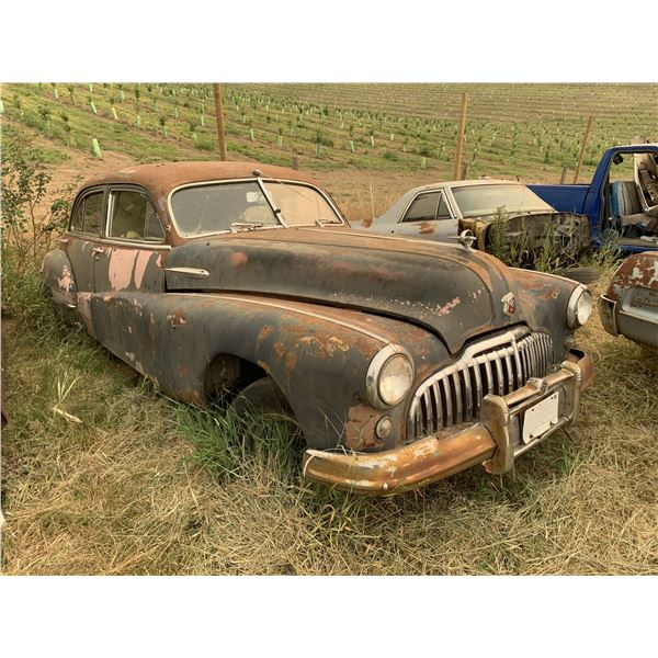 1948 Buick - 4 dr, parts or restore