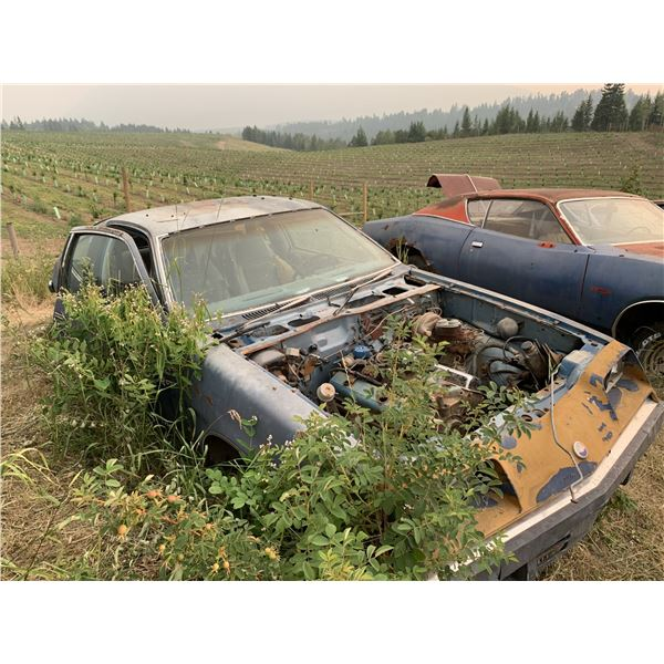 1980 Chevy Monza 2+2 - parts car, has all v8 parts for Spyder