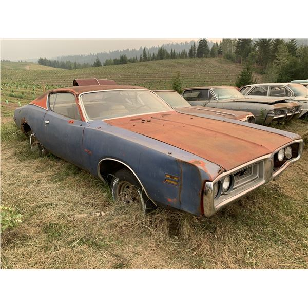 1971 Dodge Charger - shell, lots of good parts, or restore