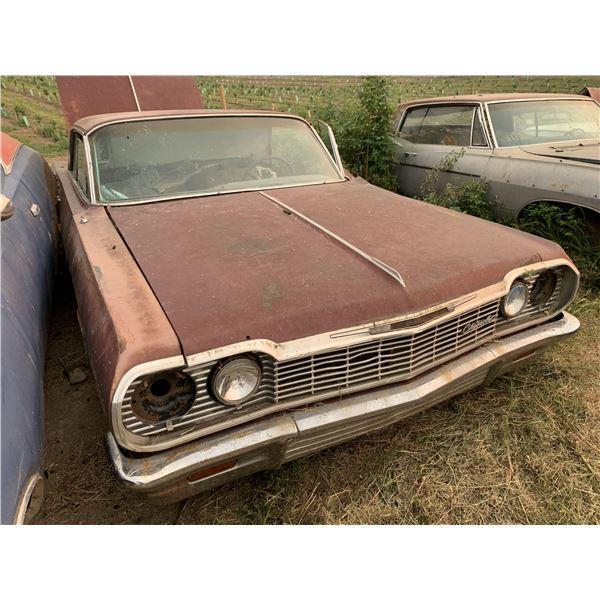 1964 Chevy Impala - 2dr hardtop, shell, no rear diff