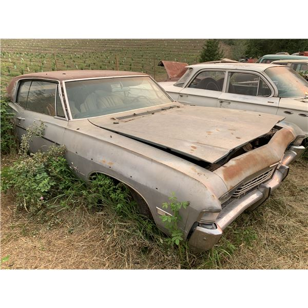1968 Chevy Impala SS - rough, has all SS parts, buckets and console
