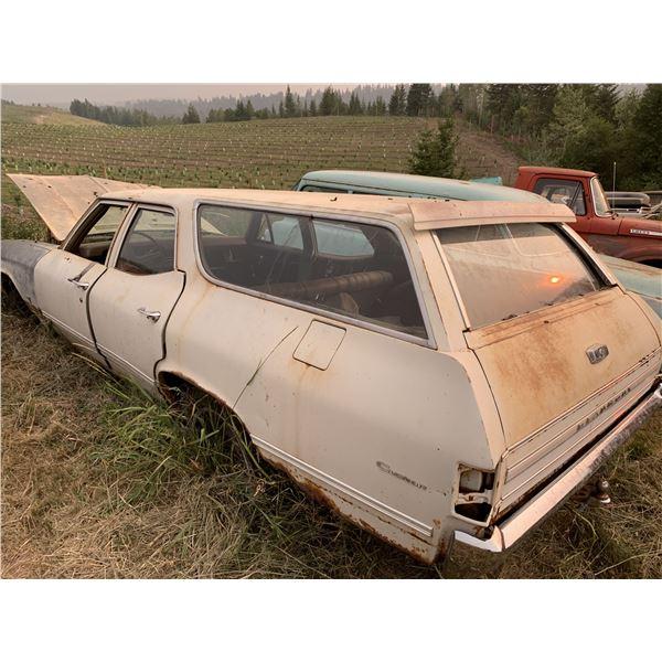 1968 Pontiac Beaumont Wagon - rare