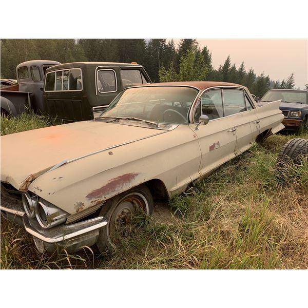 1961-2 Cadillac - 4dr hardtop, parts car for convertible(?)