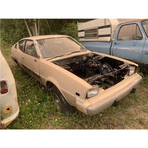 Plymouth Arrow GT - make good drag project, super solid shell, have hood with hole in it
