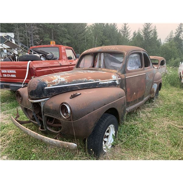 1941 Ford Coupe - short door, exellent project, super solid body