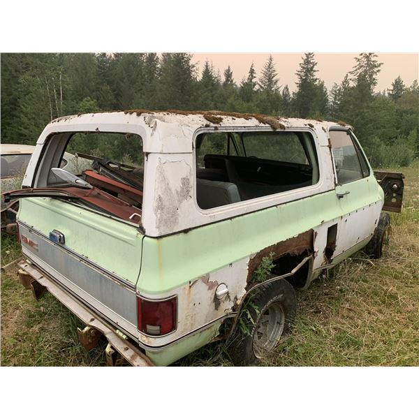 1974 Chevy Blazer - project or parts, rough but lots of good parts