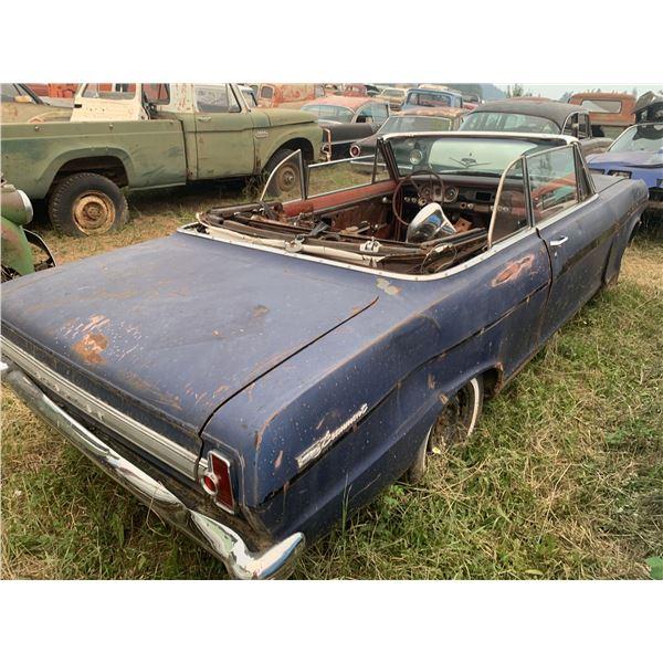 1963 Pontiac Beaumont Convertible - good project, no driveline