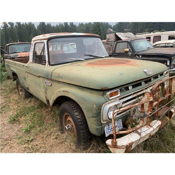 1964 Ford 3/4 Ton 4x4 - Engine Seized