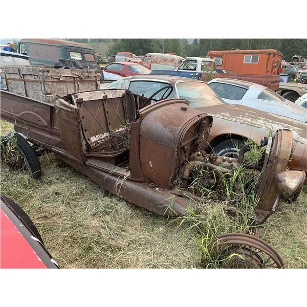 1930(?) Ford Roadster - pickup, yard art?